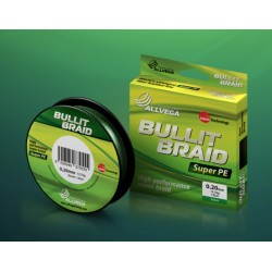 Плетеный шнур ALLVEGA BULLIT BRAID 135m Dark Green 0.08мм