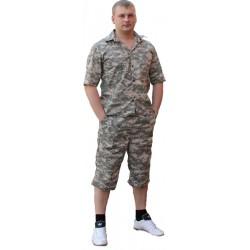 Комплект Шорты+Рубашка (серая цифра)